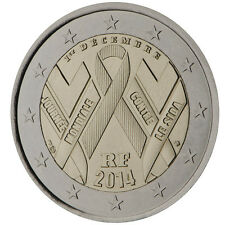 France / Frankreich - 2 Euro The fight against AIDS by way of World AIDS Day