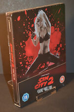 Sin City 2 Steelbook Bluray 3D UK Limited Edition New & Sealed *REGION B*