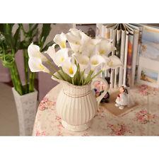144pcs Calla Lily Artificial Flowers Wedding Party Home Garden Decor White