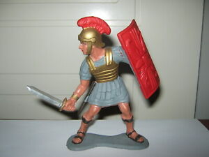 Marx romans 6 inch Tiberius with sword and shield very near mint early 1960's