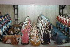 "5 pastori 10 cm terracotta 1"" qualita artigianali presepe crib shepherd gia a35"