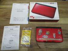 Nintendo 3DS Console RedxBlack w/box Japanese R699