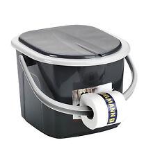 Toilette BRANQ 15,5 Liter Campingtoilette Toiletteneimer Reisetoilette Outdoor