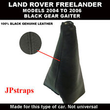 GEAR SHIFT BOOTS GENUINE LEATHER  LAND ROVER  FREELANDER MODELS 2004 TO 2006