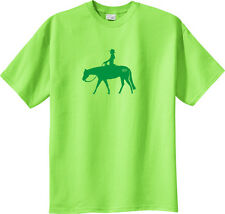 Western Pleasure WP Brand Horse and Rider T-Shirt Multiple Colors & Sizes