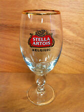 Stella Artois BELGIUM Beer 33 cl Chalice Glass NEW - Free Shipping