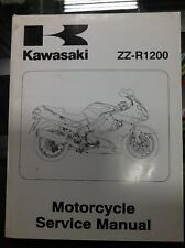 2001 Kawasaki ZR-7S Factory OEM Service  Manual  zr7s