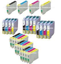 Cartouches d'encre compatibles pour Epson non-oem T711 T712 T713 T714 T715 T0715
