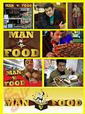 MAN V FOOD ADAM RICHMAN 8 DIFFERENT FRIDGE MAGNETS MUM DAD BIRTHDAY FREE UK P&P