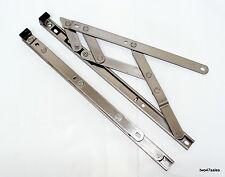 """12"""" 300mm Top Appeso 13mm Cerniera Attrito Finestra soggiorno in acciaio inox UPVC Pvc"""