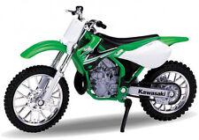 Blitz envío Kawasaki KX 250 2002 verde Welly moto modelo 1:18 nuevo & OVP