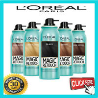 L'Oreal Paris Magic Retouch Root Instant Spray 75ml Concealer Coverage Grey hair