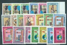 More details for jordan 1982-3 four mnh sets sg.1327-31, 1364-8, 1370-4, 1398-02