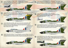 Print Scale 72376 Decals 1/72 Gloster Javelin. Part 5