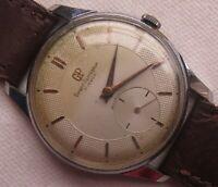 Girard Perregaux mens wristwatch nickel chromiun custom case load manual