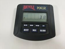 Tiger Electronics Bicycle Hand Held Travel Poker Game