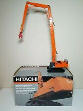 Hitachi ZX1000k Zaxis 40m Long Demolition Excavator - Orange NZG 1:50 Model #782