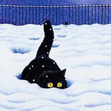 """2017 calendrier de bureau """"big foot"""" les chats par vicky mount, cat calendrier nouveau dans boîtier de cd"""
