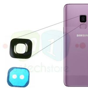 GENUINE New Samsung Galaxy S9 Rear Camera GLASS Lens Replacement part + Adhesive