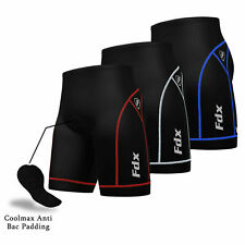 FDX Mens Quality Cycling Shorts Coolmax® Padding Outdoor Cycle Gear Tight Shorts