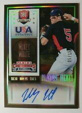 2015 CONTENDERS USA AUTO PLAYOFF TICKET MIKEY WHITE 05/15 (K)