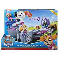 Paw Patrol Skye's Ride N Rescue Transforming Playset and Helicopter(Box damaged)
