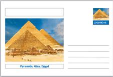 """Landmarks - souvenir postcard (glossy 6""""x4""""card) - Pyramids, Giza, Egypt"""