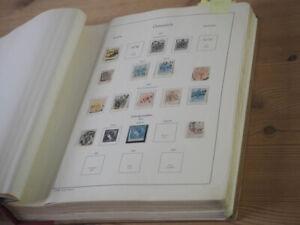 1850/1981 Österreich; gestempelte Sammlung mit GUTEN Ausgaben im dicken Vordruck