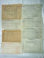 Collection Of Railway Ephemera Inc. Parcels Waybills Etc Southern, South East