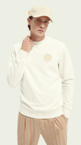 Scotch & Soda Sweatshirt im Regular Fit aus Bio-Baumwollmischung Gr.S new SALE
