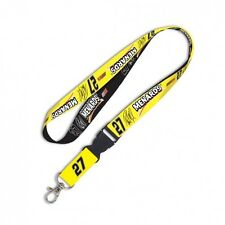 NEW Paul Menards #27 MENARDS Lanyard w Detachable Key Ring NASCAR