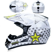 Motorcycle Extreme Sports Motocross Helmet Off Road ATV Dirt Bike With 3Pcs Gift