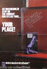 Bob Dylan Tom Petty 1986 True Confessions Tour Cbs Fox Video Promo Poster