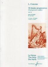 CONCONE 30 ETUDES PROGRESSIVES Op26 Vol 1 HARP