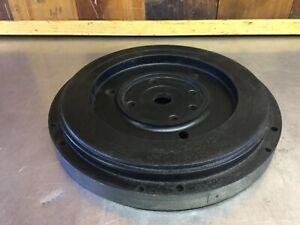 Triumph TR3A TR3B TR4 TR4A •Bare Flywheel (Bolt-On Ring Gear Type). Used.  T2291