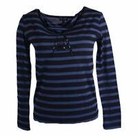 ARMANI JEANS 6X5M01 5J04Z Womens T Shirt Crew Neck Long Sleeve Casual Cotton Tee
