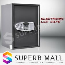 Electronic Safe Lock Security Box with LCD Jewelry Storage Office Home Deposit