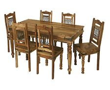 Jali Solid Sheesham Indian Rosewood 1.8 CM Dining Table/Table Only