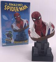 "Marvel Amazing Spider-Man 8"" Bust Dynamic Forces 2002 Comics Peter Parker Statue"