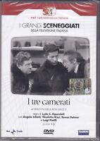 2 Dvd Sceneggiati Rai «I TRE CAMERATI» con Angelo Infanti completa nuovo 1967