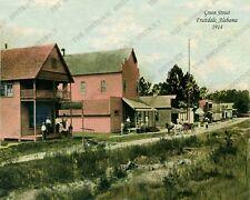 Fruitdale, Alabama 1914 8x10 Color Photo FREE SHIPPING!