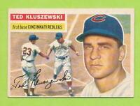 1956 Topps - Ted Kluszewski (#25)  Cincinnati Reds