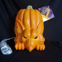 Vintage 1995 Trendmasters Jack OLantern Mouse Rat Foam Pumpkin Halloween New
