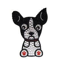 Boston Terrier Dog Rhinestone Glitter Jewel Phone Ipod Iphone Sticker Decal