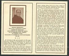 Estampa antigua del Padre Juan de la Cruz andachtsbild santino holy card santini