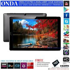ONDA V10 PR0 GPS 32GB 2.0GHz 4GB RAM 4K DUAL OS ANDROID 6.0 PHONENIX TABLET PC