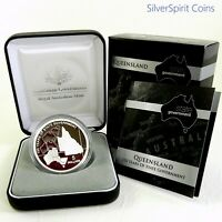 2009 STATE GOVERNMENT 150 YEARS QUEENSLAND Silver Proof Coin