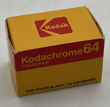 NOS Kodak Kodachrome 64 KR 135-36 Color Slide Film Expired 12/1977 Vintage