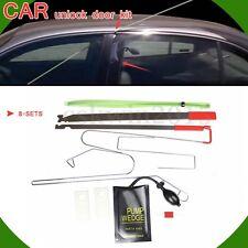 8x Car Lock Out Door Key Lost Emergency Opener Opening Unlock Unlocking Tool Kit