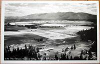 1940 Realphoto Postcard: Kootenai Valley - Bonners Ferry, Idaho ID